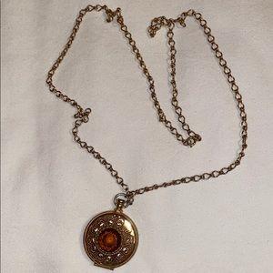Vintage Avon Locket on Chain